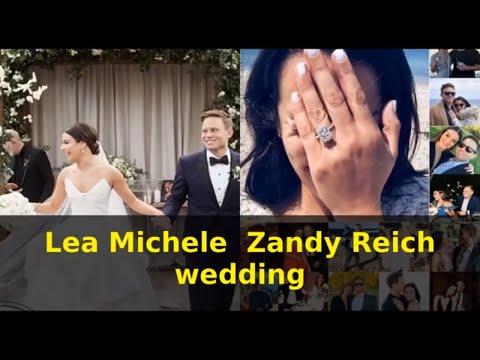 Lea Michele  Zandy Reich wedding Mp3