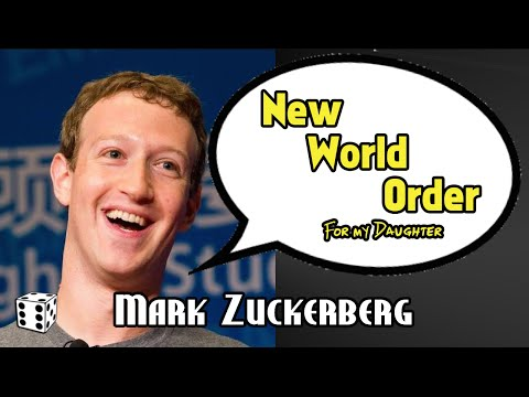 Mark Zuckerberg Wants a New World Order For His Baby Daughter