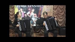 Festival «Harmonika-l'âme de Russie» au musée de Harmonika (accordéon) de fondateur À.Mirek à Moscou
