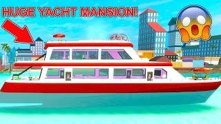 Ho comprato un enorme yacht casa con il mio ragazzo in Robloxian Highschool! (Roblox)