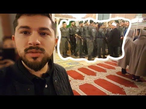 İsrail Askerleri Camiye Postallarıyla Baskın Yaptı 😡- Kudüs Vlog