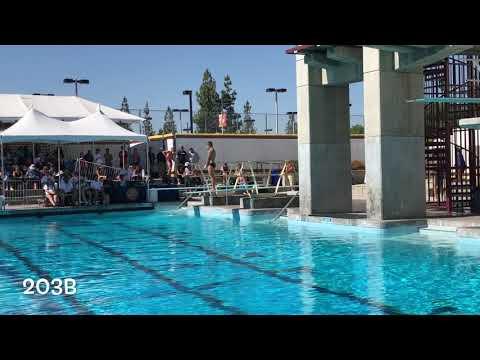 Ca State High School Diving Championships Collin Brownell Jim Elliot Christian High School