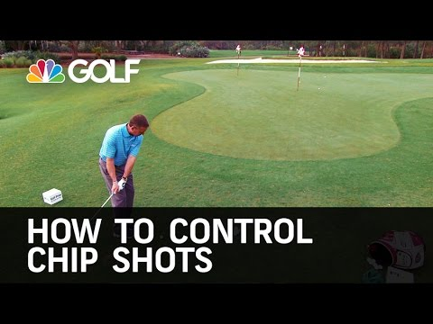 How to Control Chip Shots - The Golf Fix   Golf Channel
