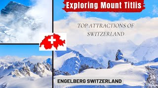 MOUNT TITLIS   MOUNT TITLIS SWITZERLAND