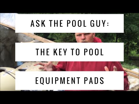 Ask The Pool Guy:  The Key To Pool Equipment Pads