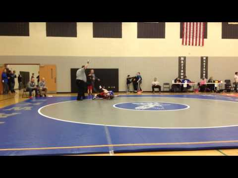 Guido Pigoni's 5th match for Hampshire Middle School 2-4-17