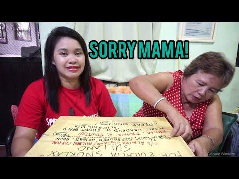 SORRY MAMA SANA MAPATAWAD MO KO!   (PACKAGE PRANK)