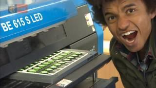 Green Badge Factory - Blue Peter