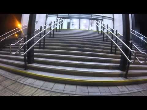 Commute on Brompton with Dynamo Lights