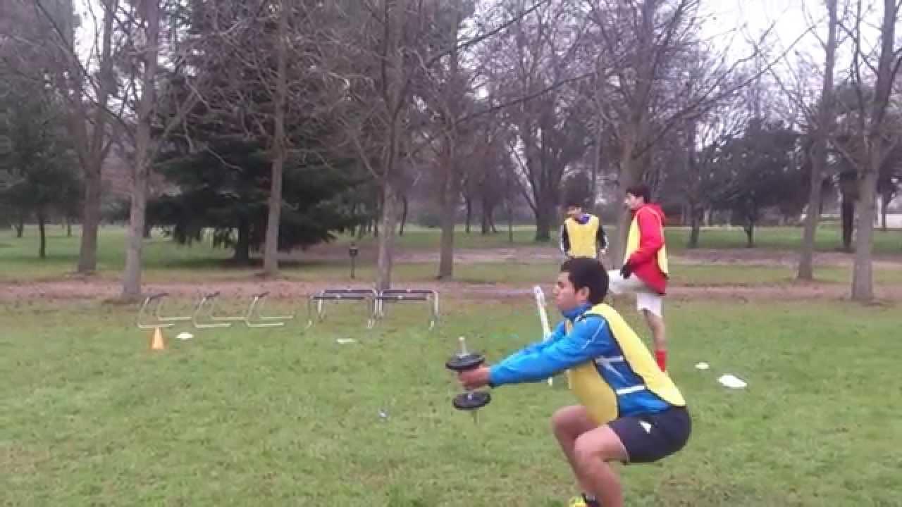 Circuito Fisico Tecnico Futbol : Entrenamiento fútbol circuito físico técnico youtube