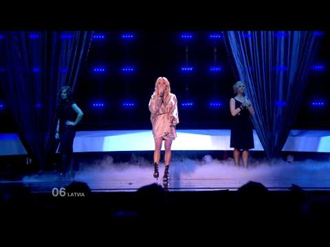 Aisha - What For? (Latvia - Semi-Final (1) - Eurovision Song Contest 2010) FULL HD