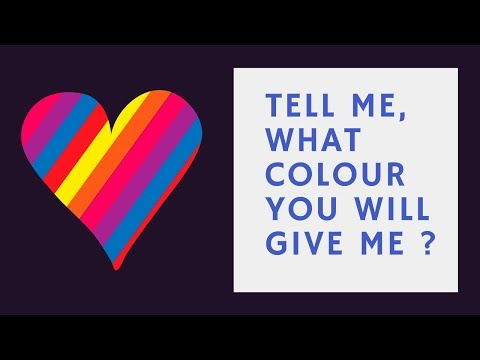 whatsapp dare messages - Tell me what colour you will give me