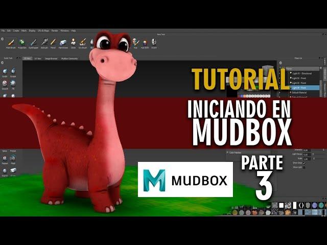 Tutorial iniciando con Mudbox en español ::: Parte 3