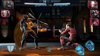 Injustice 2 Бэтмен, Харли Квин, Чудо женщина vs Женщина кошка, Бэйн, Дэдшот