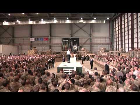 President Obama Visits Bagram Air Base, Afghanistan