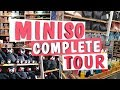 MINISO STORE DELHI COMPLETE TOUR | bags, skincare, stationary and much more | And our first GIVEAWAY
