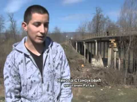 RTV Vranje - Most u selu Rataje 20 03 2013