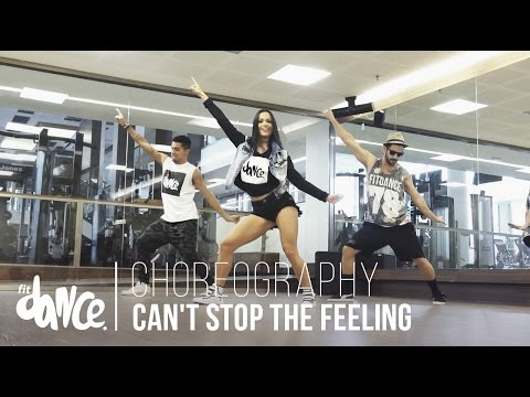 Can't Stop The Feeling - Justin Timberlake   Choreography - FitDance - 4k