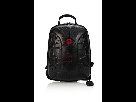 TRAKK Shell Weatherproof Bluetooth Speaker & Power Charging Backpack