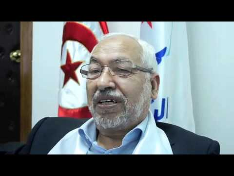 Tunisia-Sheikh Ganouchi.leader of Anahda. tv networks DONT BROADCAST!!