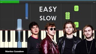 5 Seconds Of Summer Youngblood Slow Easy Piano Tutorial