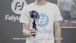 Feiyutech Vlog Pocket Gimbal 3-Axis For Smartphone Pink GARANSI RESMI