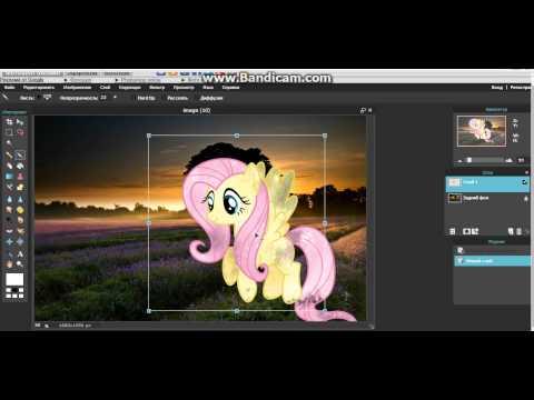 Как вставить фото на фон в фотошопе онлайн? Просто! От Джемки
