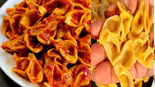 മക്കറോണികടയിൽ നിന്നും വാങ്ങിക്കേണ്ട ഗോതമ്പ് പൊടി കൊണ്ട്  വീട്ടിൽ ഉണ്ടാക്കാം/Home Made Wheat Pasta