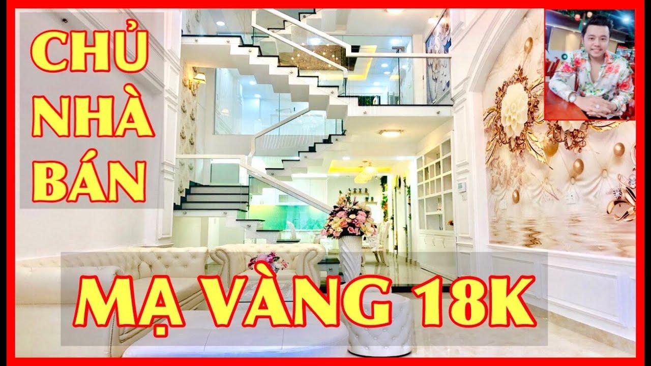 Siêu Mẫu Vũ Hoàng Việt Bán nhà Gò Vấp #266  ❤️ Cung Điện Hoàng Gia đẹp tuyệt mỹ Nguyễn Oanh Gò Vấp