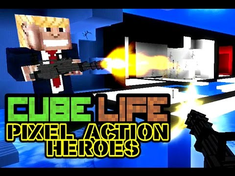 cube life pixel action heroes trailer official wiiu youtube. Black Bedroom Furniture Sets. Home Design Ideas