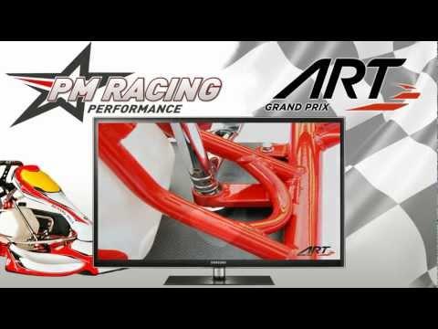 PM-Racing Performance ART Grand Prix Kart Presentation