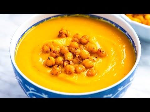 How to Make Dreamy Roasted Butternut Squash Soup