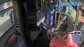 Помогите вернуть забытый ноутбук в автобусе 22 маршрута. Видео с камеры