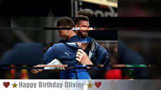 ☆ Happy birthday my champions ☆ ~ Olivier Giroud ~