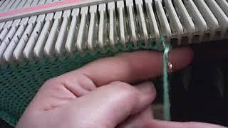Машинное вязание. Видео-уроки. Урок №7