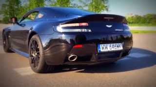 Aston Martin V12 Vantage S exhaust sound - Grzegorz Ciźla o samochodach