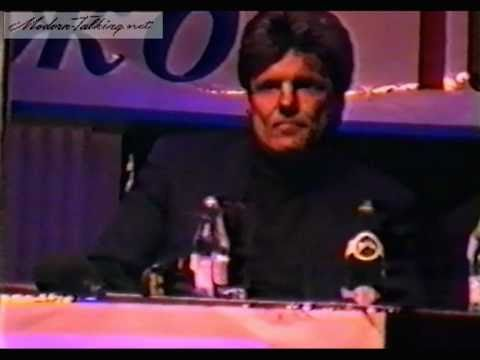 Dieter Bohlen - Press-conference Moscow (1997, Camera)