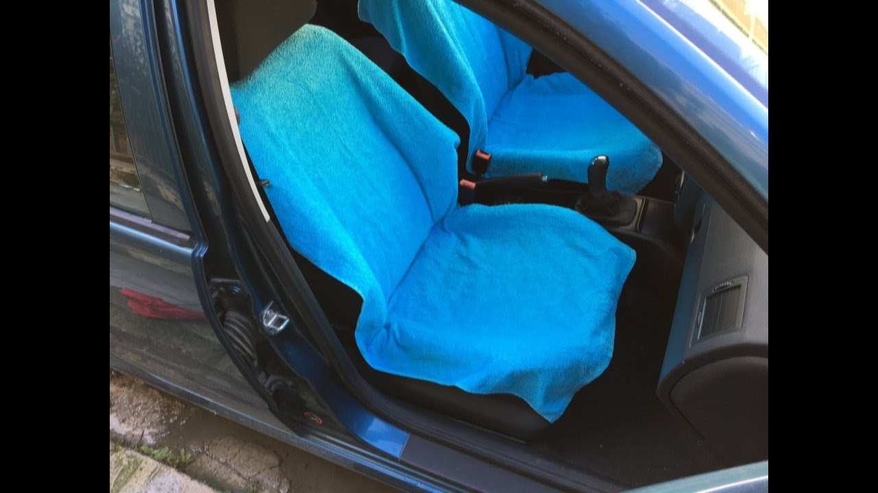 How To Make A Car Seat Cover (suitable For Side Airbags