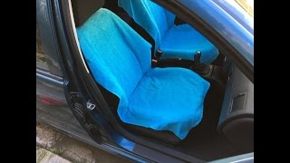 How to make a car seat cover (suitable for side airbags)