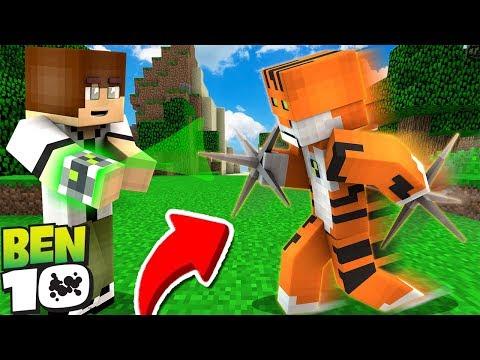 BEN 10 RATH'ı BULDU! OMNİTRİX SAATİNE ALDI! 😱 - Minecraft