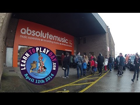 Absolute Music: Learn To Play Day Trailer 2014