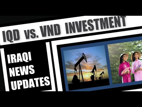 Iraqi News IQD Exchange Rate Vs  VND Vietnam Dong Rate Investment