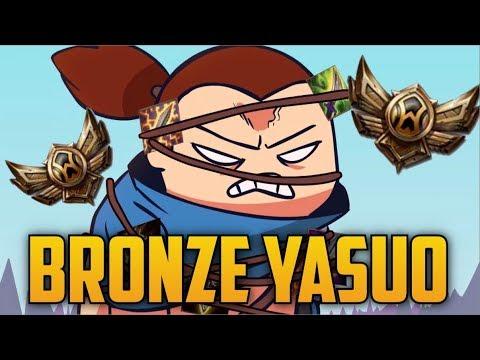 The Average Bronze Yasuo- Bronze Spectates 35