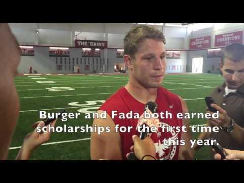 Ohio State captain Joe Burger on friend Craig Fada