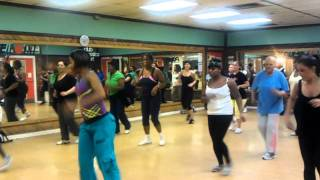 Zumba fitness with Lesley - Cha Cha Slide
