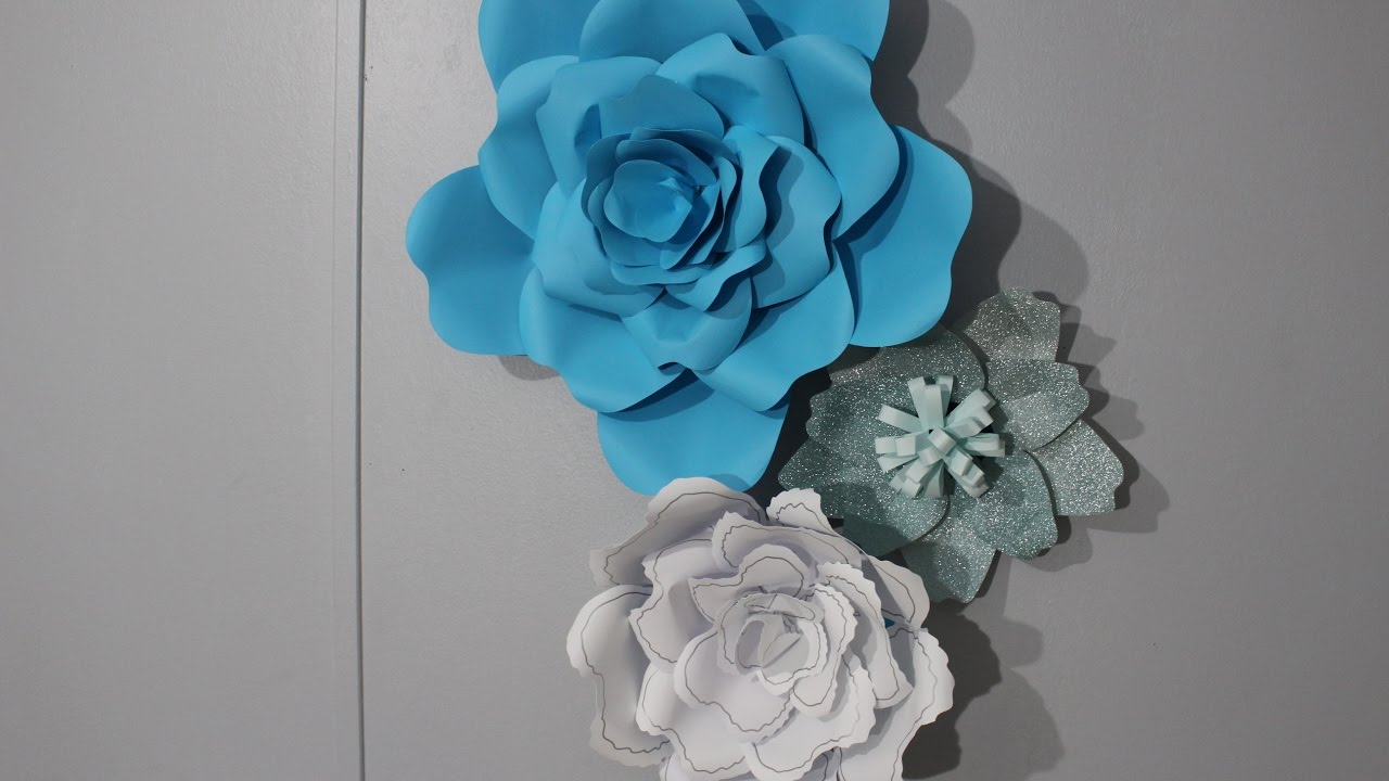 Paper Flowers A How To With Design Space And No Handbook Youtube