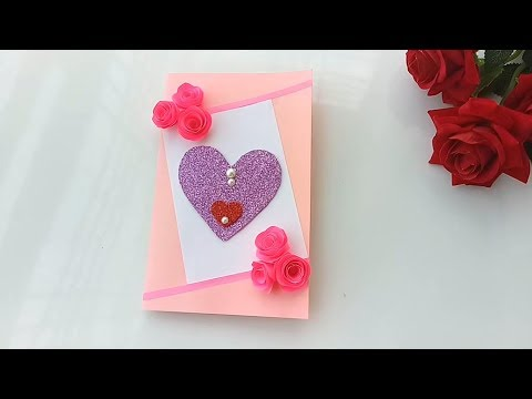 DIY pop-up Card for Valentine's day  | Valentine's Day card idea