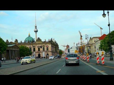 driving-in-berlin.-Авто-прогулка-по-Берлину.-fahrt-durch-berlin.