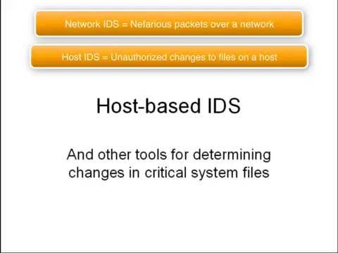 Host-based Intrusion Detection Systems