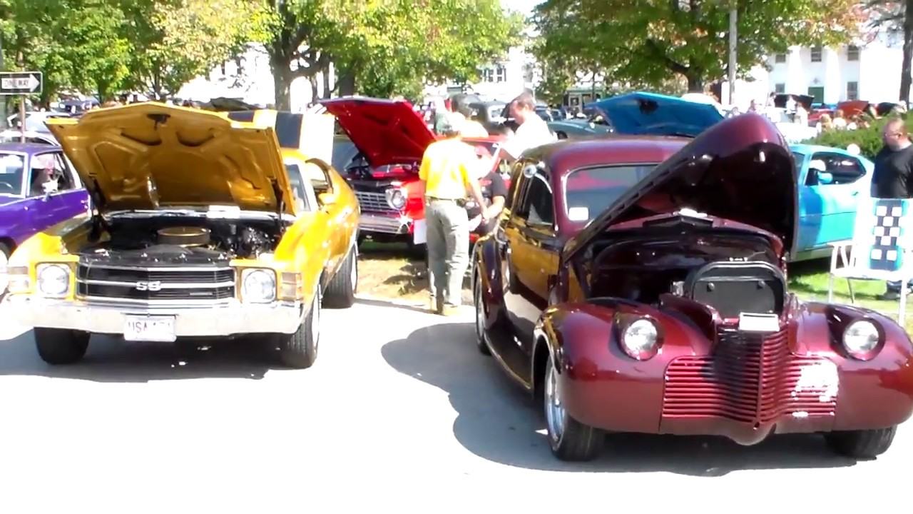 Barre Massachusetts Lions Club Car Show 2012
